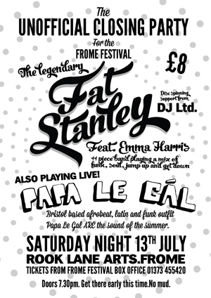 Fat Stanley play Glastonbury